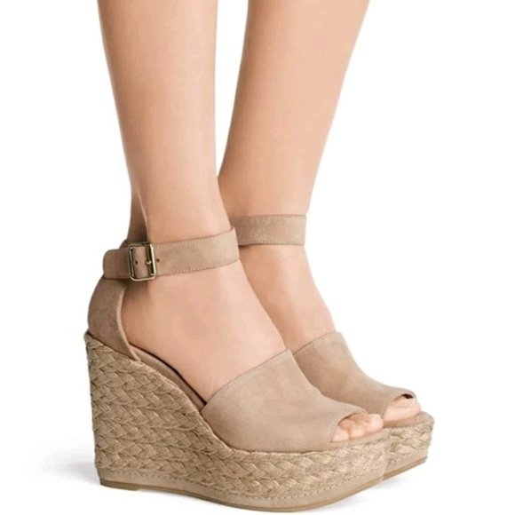 Stuart Weitzman Sohojute Espadrille Wedge Sandals discount sale online outlet locations online 2015 sale online LhO9uSO